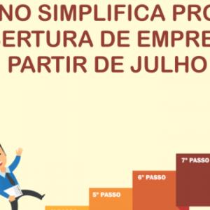 GOVERNO SIMPLIFICA PROCESSO DE ABERTURA DE EMPRESAS